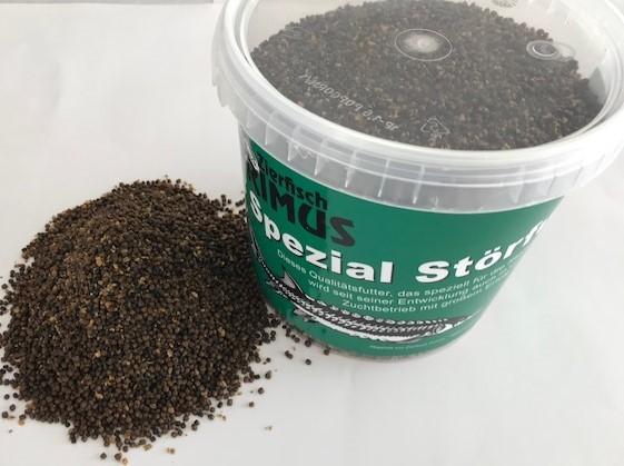 Löffelstörfutter 1,5 Liter
